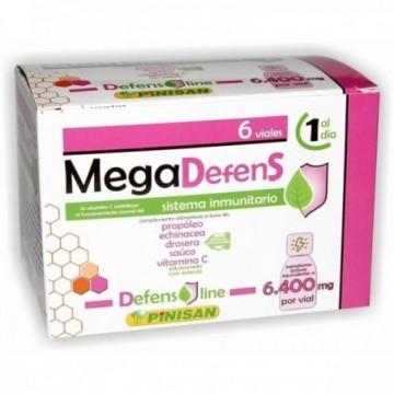 Megadefens 6400 Mg 6 Viales...