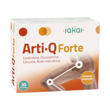 Arti-Q Forte 30 Cápsulas Sakai